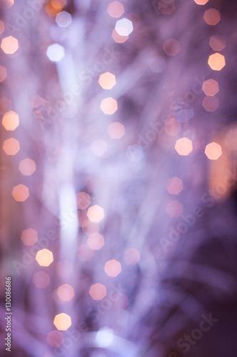 illuminations abstraites violettes de la nuit - 130086686