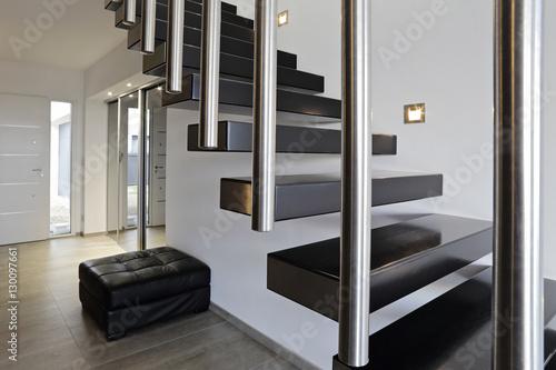 architecture escalier moderne intérieur maison design
