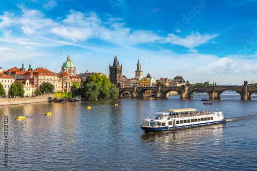 Poster Panoramic view of Prague