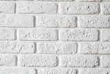 wall white brick - 130129686