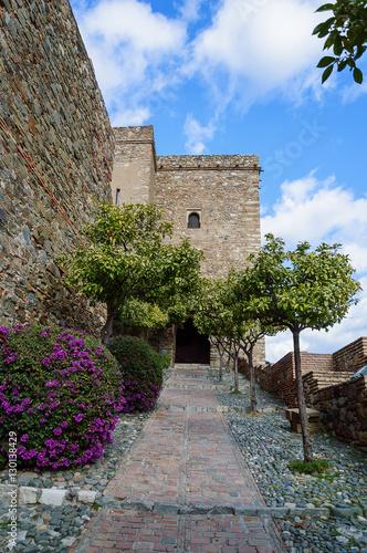 Alcazaba de Malaga in Andalusia, Spain