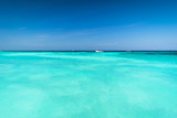 Vast and Blue ocean, Beautiful Blue water surface at the open sea