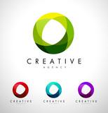 Circle, Circular Corporate Logo.Abstract Corporate Logo Design - 130200276