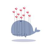 una balena pesante