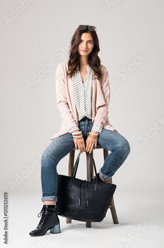 Stylish fashion woman