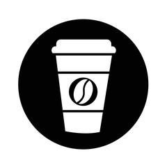 coffee cup icon illustration design