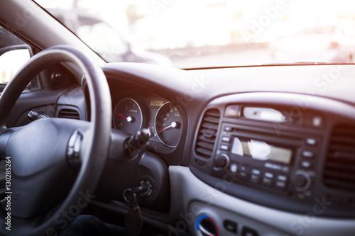 Foto op Plexiglas Motorsport Car Dashboard