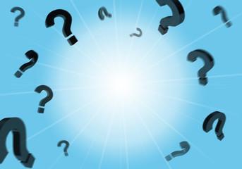 Fragen, Fragezeichen