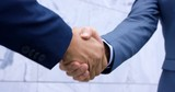 Standard Business Men Clothing Handshake
