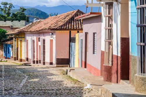 Foto op Canvas Caraïben Colorful houses in Trinidad, Cuba
