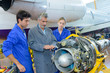 inspection of aircraft mechanism