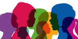 Enfants - Silhouettes - Profils - Jeunes - 130356436