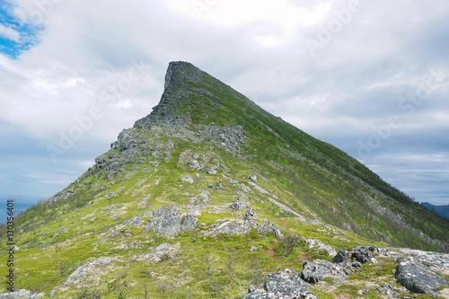 Poster Segla Mountain, Senja, Norway