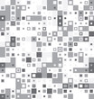 Abstract gray seamless texture pattern from sqaures. Vector illustration