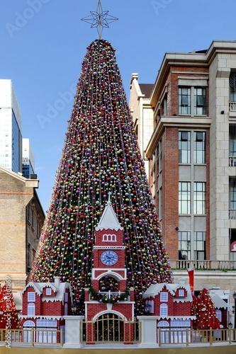 Poster great big Christmas tree