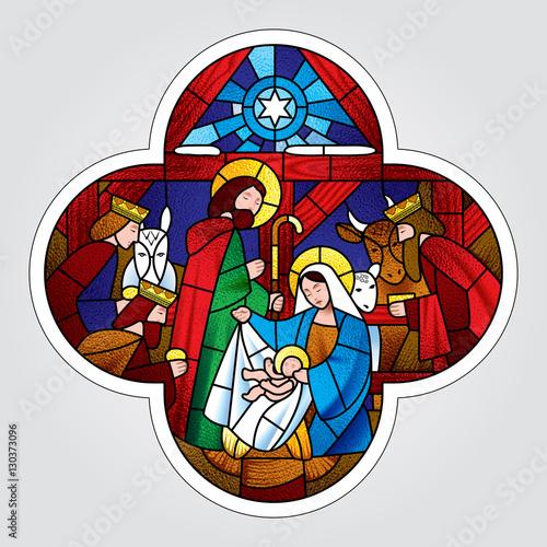 krzyzuj-ksztalt-ze-scena-bozego-narodzenia-i-adoracji-magow