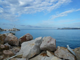 Krajobraz Morski - widok z wybrzeża (Wyspa Thassos)