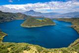 Cuicocha crater lake, Reserve Cotacachi-Cayapas, Ecuador