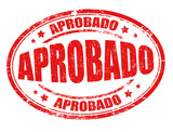 Aprobado (approved) sign or stamp