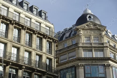 Immeubles Parisiens Poster