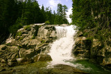 A beautiful mountain river landscape in Tatry, Slovakia