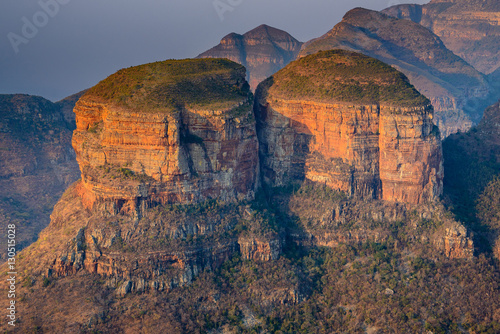 Papiers peints Cappuccino The Three Rondavels in the Blyde River Canyon, South Africa
