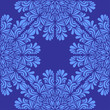 Materiał do szycia Abstract seamless background with blue snowflakes