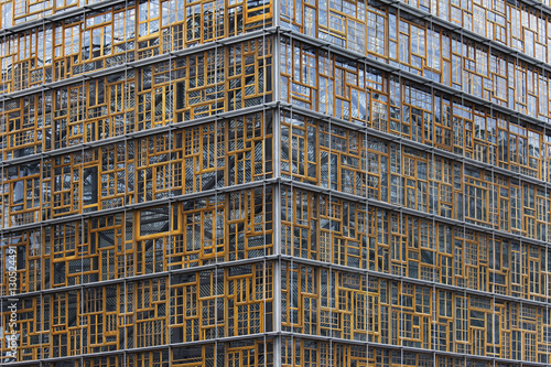 Foto op Canvas Brussel Europa Building