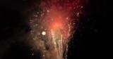 Fireworks finale explosion