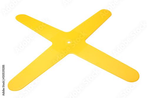 Poster X-shaped boomerang
