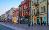 Architecture of the main street of Kosice, Slovakia, Europe