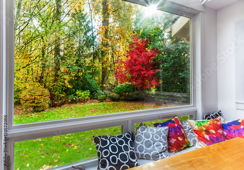 Autumn view of garden - 130572086
