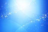 ブルー色のきらめく抽象的背景  - 130577420