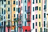 Case liguri multicolore