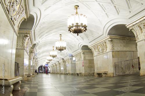 Papiers peints Moscou The Moscow metro