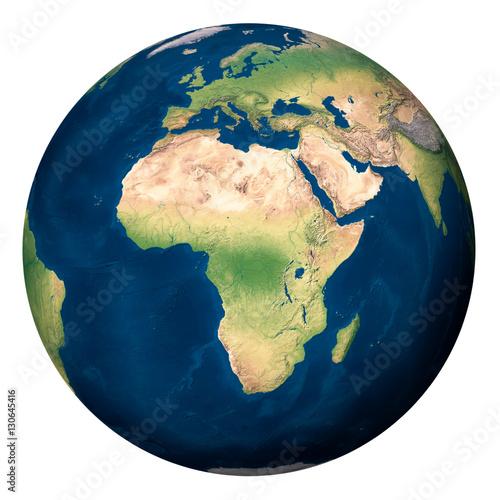 Plexiglas Planet Earth, Africa - Pianeta Terra, Africa