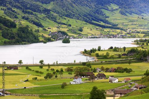 Fotobehang The beauty of the Swiss landscape