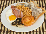 Traditional Fried English Breakfast