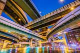 Osaka Japan Highway Junction