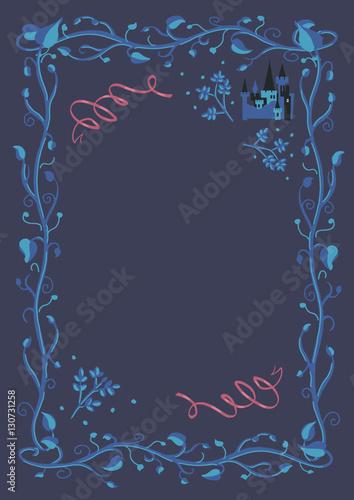 Decorative Fairy Tale Frame