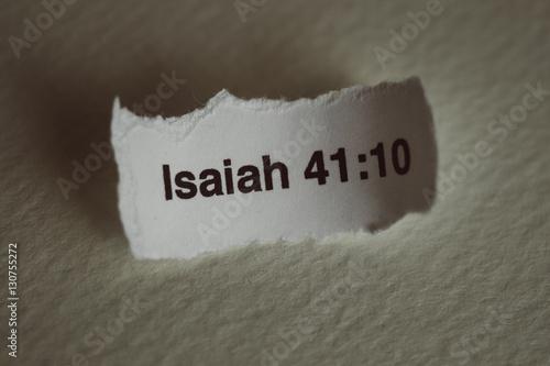 Poster Bible Verse - Isaiah 41:10