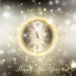 Detaily fotografie Gold Happy New Year background