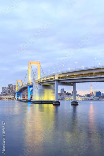 Poster Twilight Tokyo Rainbow bridge