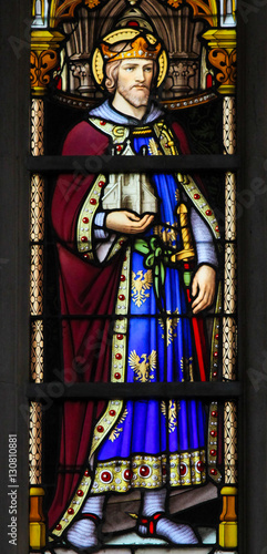 Papiers peints Bruxelles Stained Glass - Saint Leopold