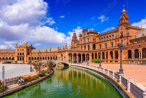 Seville Spain at Spanish Square