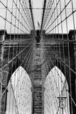 Detail Of Brooklyn Brige / New York