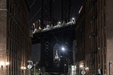 Manhattan Bridge as seen from Dumbo Brooklyn New York