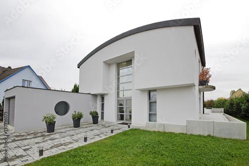 maison villa quatre façades unifamiliale architecture contemporaine Poster