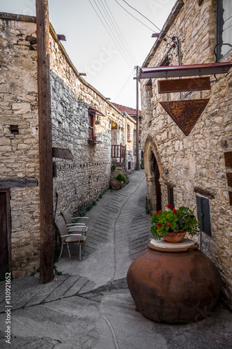 Mediterranean mountain village