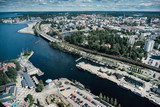 Tampere town from above. Finland. - 130963806